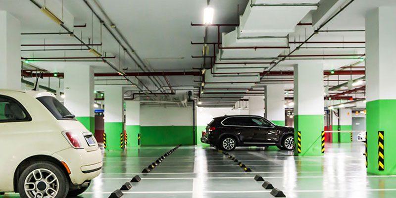 puntos de recarga coche electrico parking